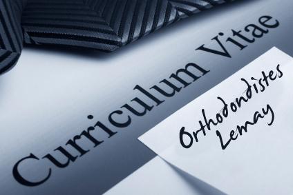 Curriculum Vitae résumé carrière offre d'emploi job opportunity Orthosontistes lemay