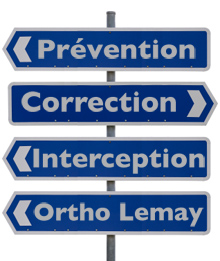Indications ortho lemay interception correction prevention