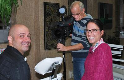 reportage de Radio-Canada Estrie sur l'orthodontie pour adulte. Orthodontiste Lemay à Sherbrooke