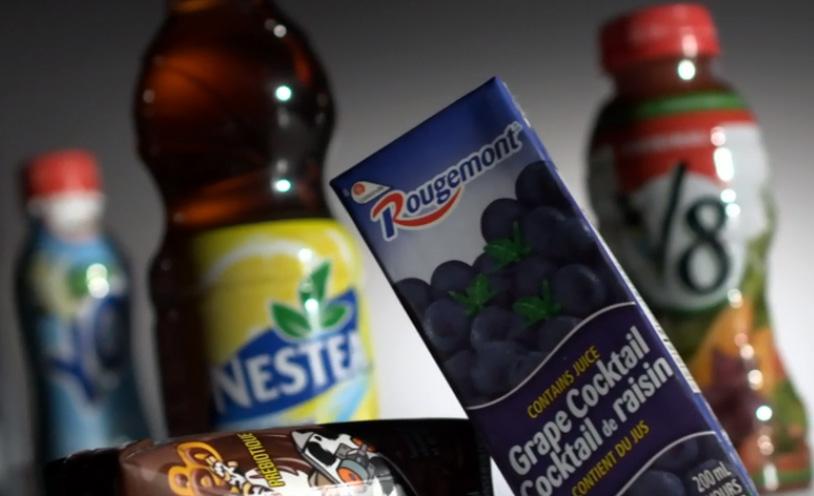 Le sucre est présent de façon cachée dans plusieurs aliments et boissons.