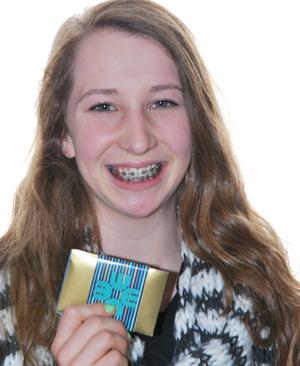 Camelie Guimond  gagnant du concours d'hygiène buccodentaire chez les orthodontistes Lemay à Sherbrooke