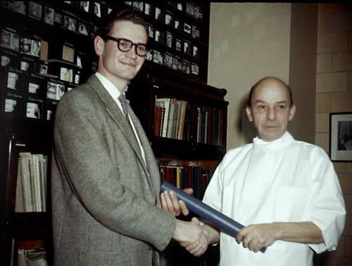 Jules E. Lemay, orthodontiste Sherbrooke ; graduation en 1958.