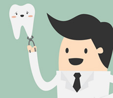 Complications de l'extraction de dents de sagesse.